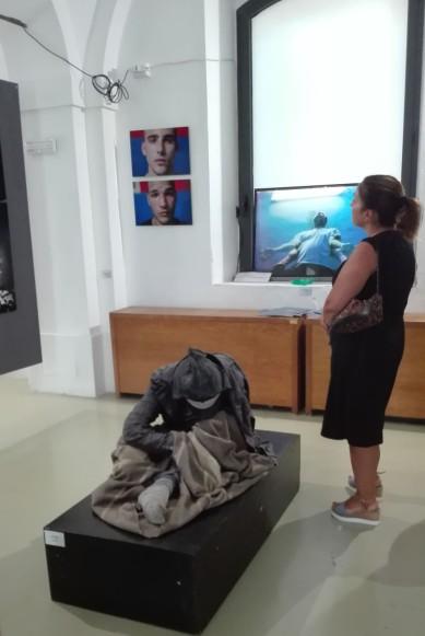 Paratissima 2017 - scultura di Andrea Pili