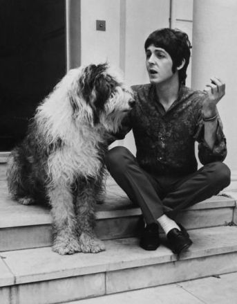 Paul McCartney e Martha, 1960