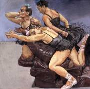 Paula Rego - Dancing Ostriches