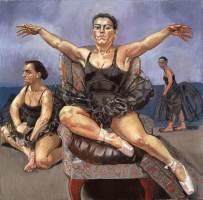 Paula Rego - Dancing Ostriches