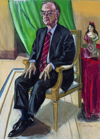 Paula Rego - Retrato oficial do Presidente Jorge Sampaio