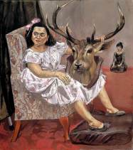 Paula Rego - Snow White Playing with her Father's Trophies