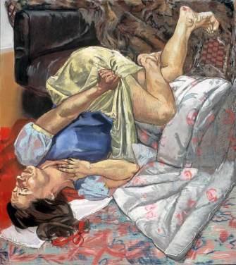 Paula Rego - Swallows the Poisoned Apple