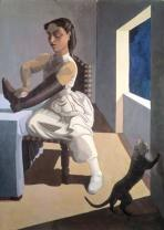 Paula Rego - The Policeman's Daughter