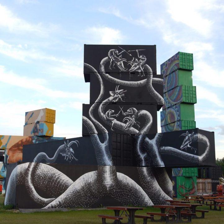 Phlegm @Rockwerchter, Belgium