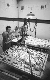Pierre Alechinsky - studio litografia