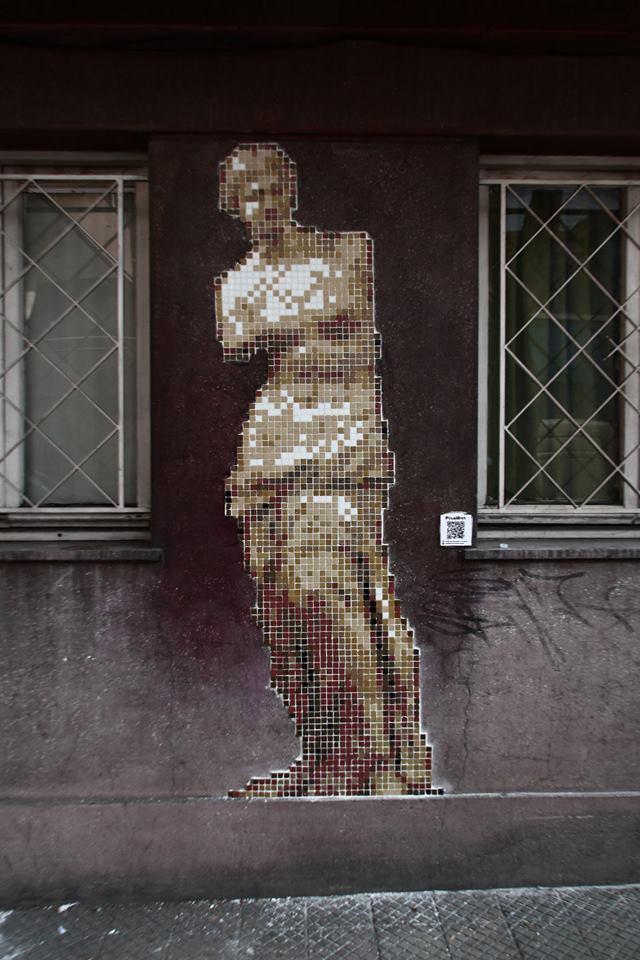 Pixel Art @Santiago, Chile