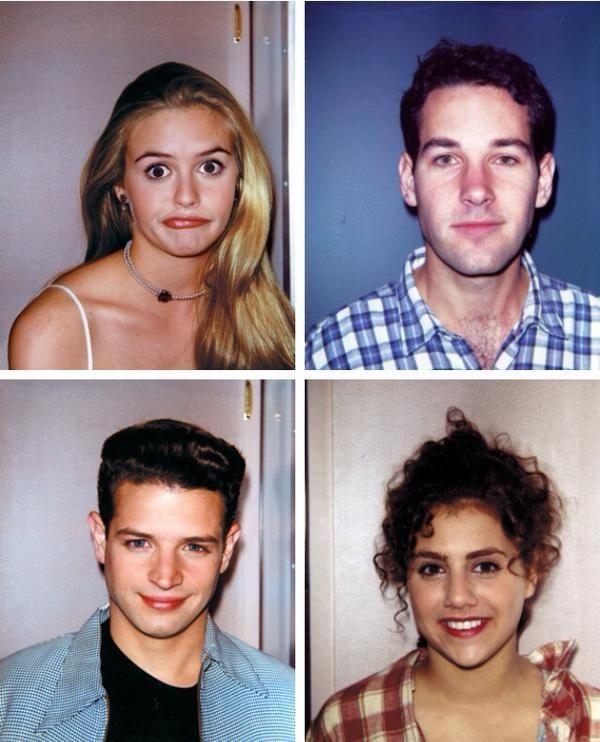 Polaroid dietro le quinte di Clueless