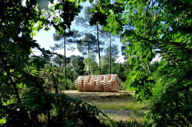 Refuges Périurbains - Bruit du frigo - Le Tronc Creux, Refuge périurbain #5 - 2013