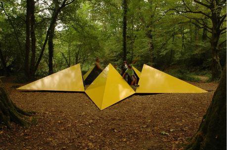 Refuges Périurbains - Stéphane Thidet - La Belle Etoile, Refuge périurbain #4 - 2012