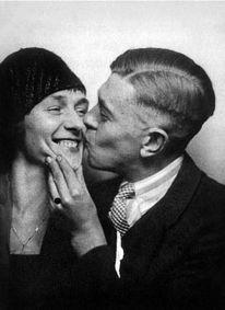 René Magritte e sua moglie Georgette Berger, 1929