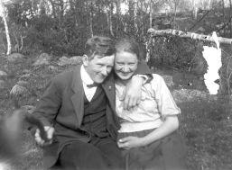Selfie con un bastone, 1934