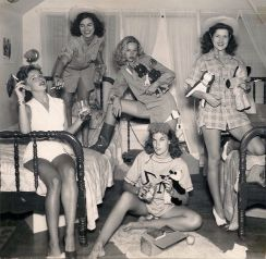 Sorority Sisters (Tri-Deltas), University of Texas, 1944