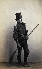 Spazzacamino scozzese ( 1860 circa)
