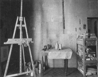 Studio di Giorgio Morandi