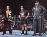The Rock, Stone Cold Steve Austin e The Undertaker