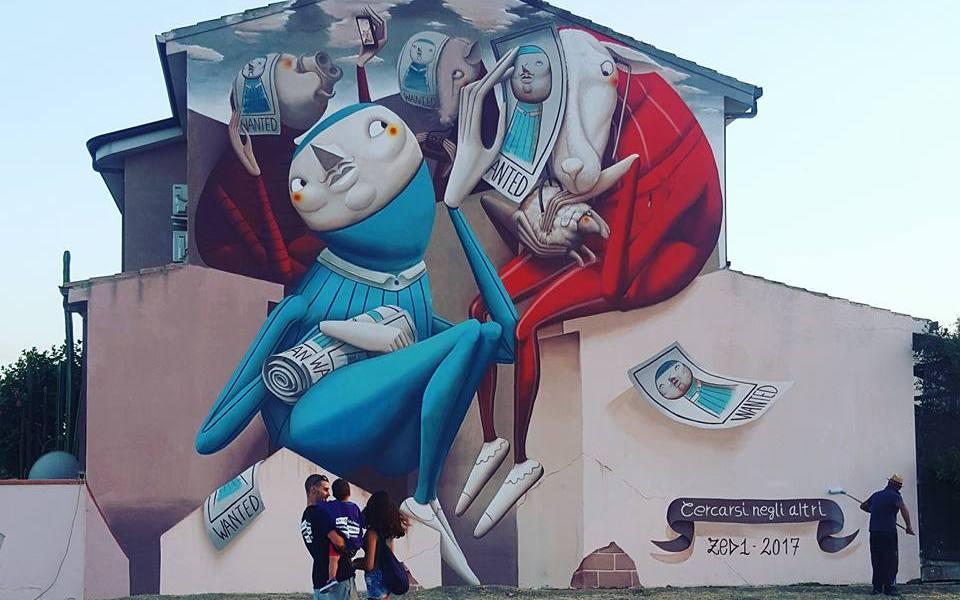 Zed1 @San Gavino Monreale, Italy