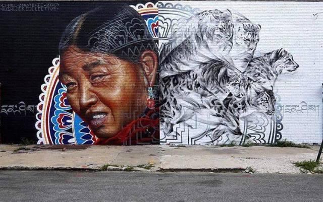 Adnate & Li-Hill @Bushwick, Brooklyn, NY