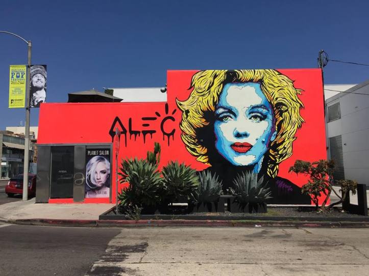 Alec Monopoly @West Hollywood, USA