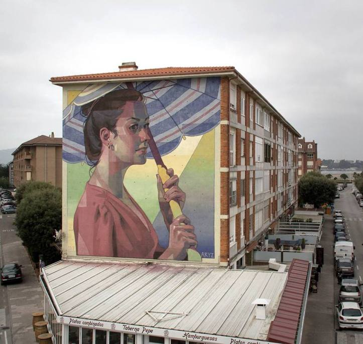 Aryz @Cantabria, Spain