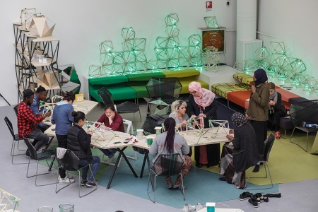 Biennale Arte 2017 - Padiglione Centrale (Giardini): Green Light Workshop by Olafur Eliasson (Danimarca)