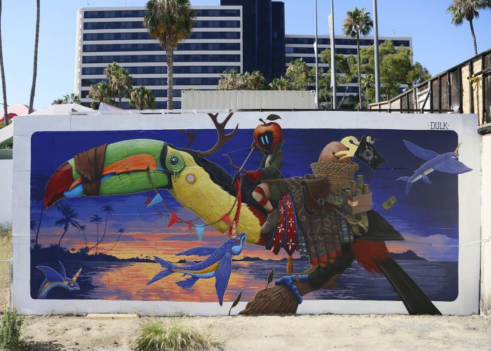 Dulk @Long Beach, USA