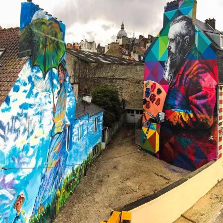 Eduardo Kobra @Boulogne-sur-Mer, France