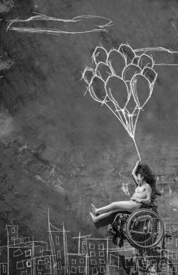 Fabio Costantino Macis - Who Cares! - Spastic Quadriplegia -Flying over you