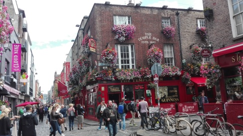 Dublino - Temple bar pub