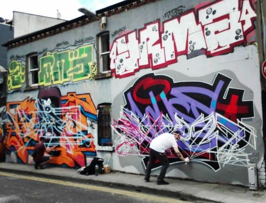 Dublino - Writing