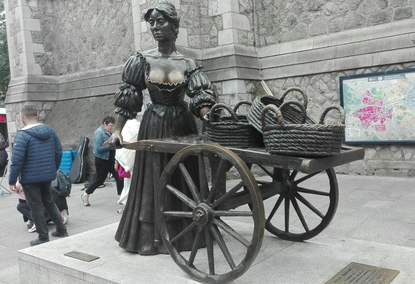 Dublino - Statua di Molly Malone