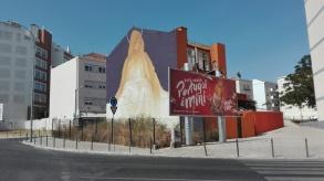 Lisbona - Itinerario street art: INTI