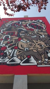 Lisbona - Itinerario street art- Festival MURO: The Caver