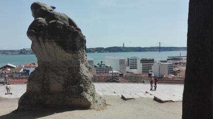 Lisbona - Miradouro de Santa Catarina