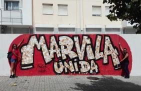 Lisbona - Itinerario street art- Festival MURO: Marvila Unida