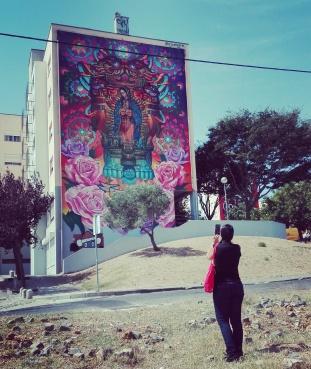 Lisbona - Itinerario street art- Festival MURO: Cix Mugre