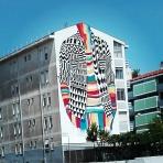 Lisbona - Itinerario street art- Festival MURO: Medianeras