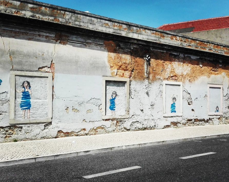 Lisbona - Itinerario street - Ernest Zacharevic