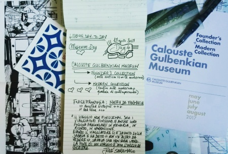 Lisbon day-by-day - Itinerari alternativi [Fondazione Calouste Gulbenkian Centro Arte Moderna] (Day 4)