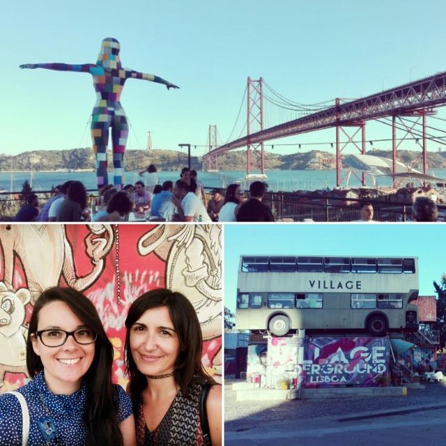 Lisbon day-by-day - Itinerari alternativi [Street art Village Underground Lisboa & LX Factory] (Day 3)