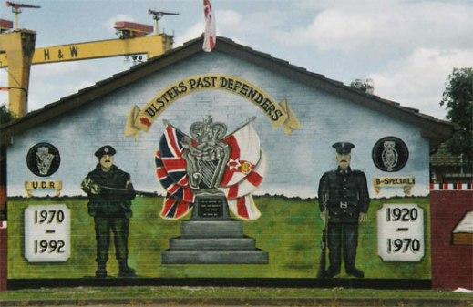 Murale lealista di Belfast