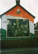 Murale nazionalista di Belfast
