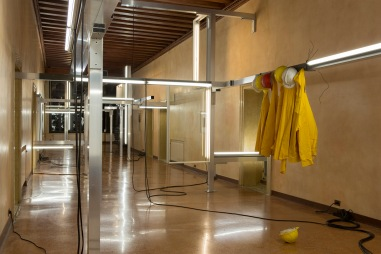 Pedro Cabrita Reis - A Remote Whisper - 2013, Installation views at Palazzo Falier, Venice