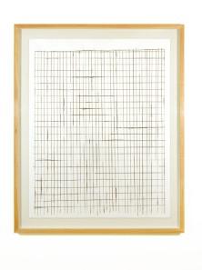Pedro Cabrita Reis - Building Drawing - 2005 acrilico e grafite su carta 175.5 x 145.5 cm