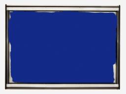 Pedro Cabrita Reis - Landscape #6 - 2006, alluminio, vernice auto su vetro stratificato, 122x170x16 cm