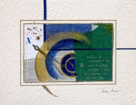 Sandro Serra - Ammazzare il tempo - 45x35 - 2010