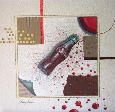 Sandro Serra - Coca-Cola #1.0 - 49x47,7 - 2011