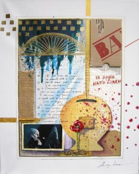 Sandro Serra - E mi viene da pensare - 40x50 - 2014