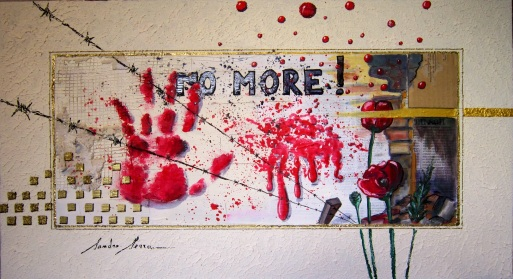 Sandro Serra - No more! - 65,5x35,5 - 2013