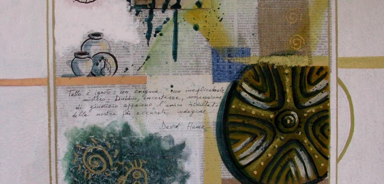 Sandro Serra - Tutto è ignoto - 50x50 - 2008